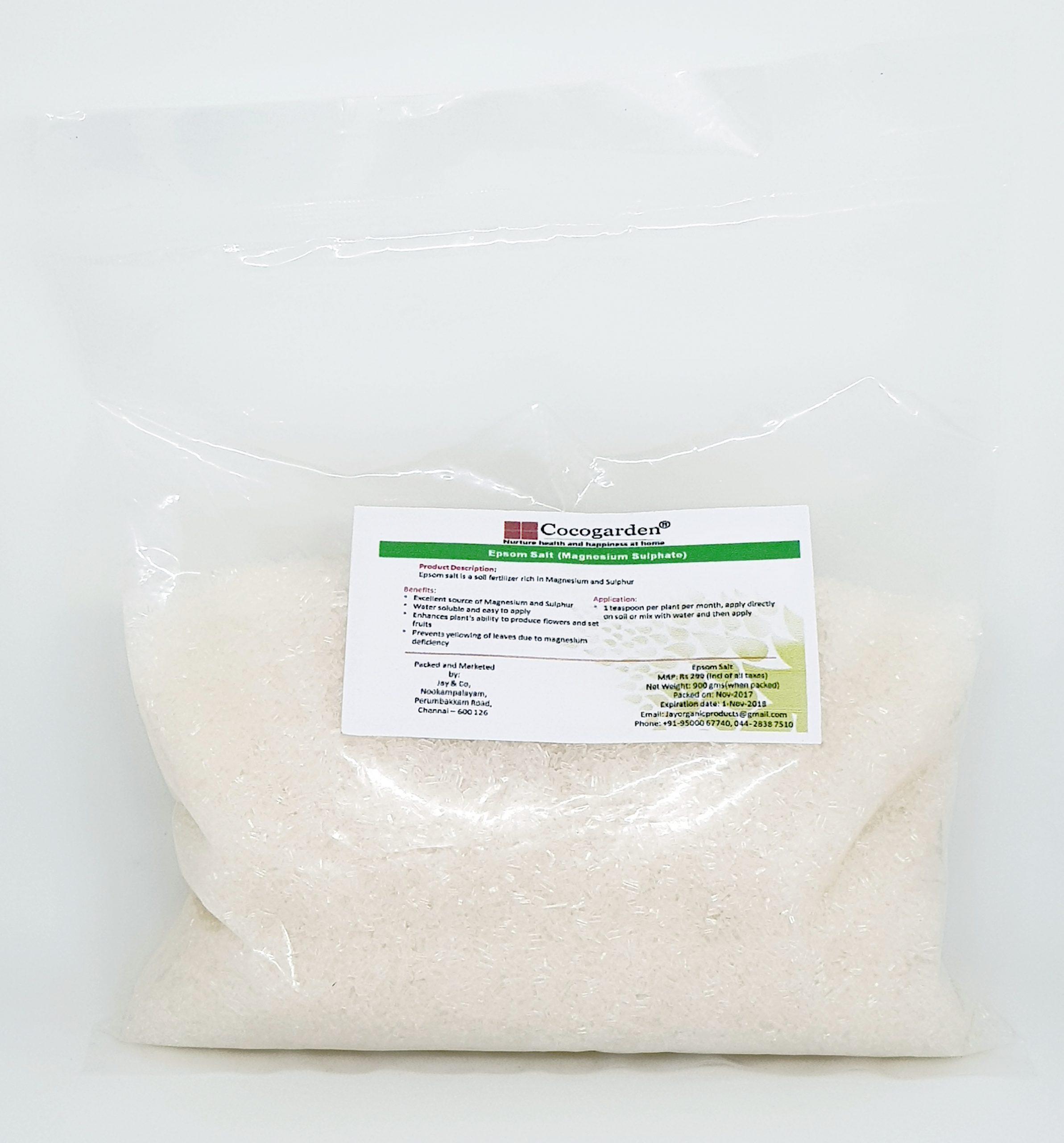 Epsom Salt Magnesium Sulphate Cocogarden Online Store